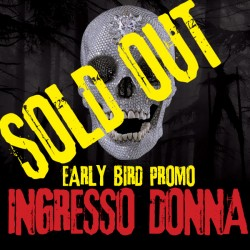 Ingresso donna - Early Bird...